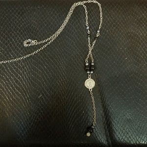Jewelry - 90's Vintage Yin Yang/Charm Y Necklace